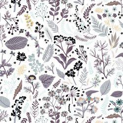 Popeline bio herb garden lilas