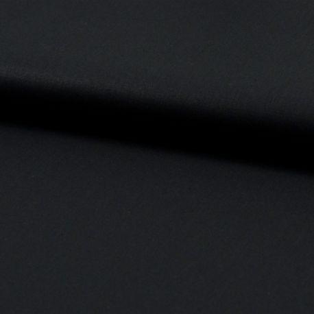 Popeline bio unie noire