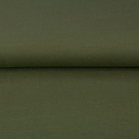 Jersey stretch kaki oeko-tex