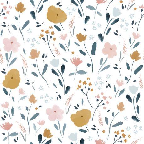 Popeline little rat flowers