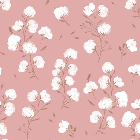 Softshell cotton flowers