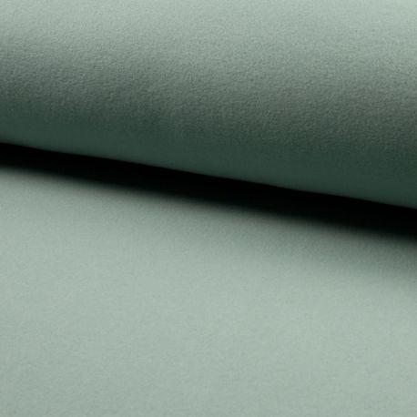 Polaire coton bio dusty mint