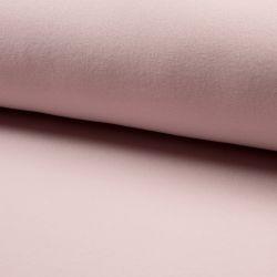Polaire coton bio rose poudré