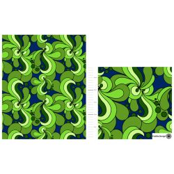 Jersey bio vert/navy