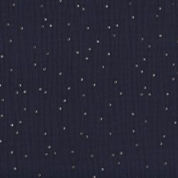 Double gaze pimiz bleu nuit