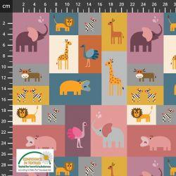 Jersey bio animal stickers
