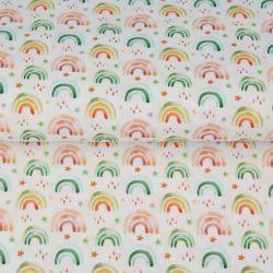 Popeline rainbow