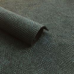 Cuir vert/noir texturé
