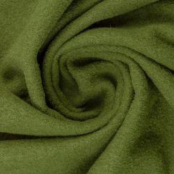 Laine bouillie Naomi vert olive