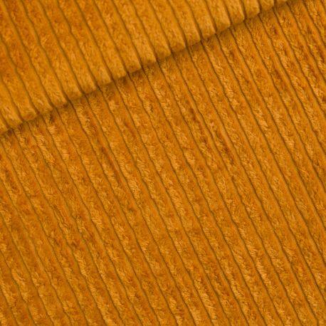 Velours côtes larges brun dusan