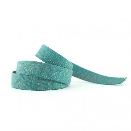 Sangle vert/bleu slate
