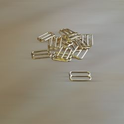 Régleurs soutien-gorge dorés