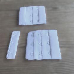 Agrafe de soutien-gorge 3 crochets blanche