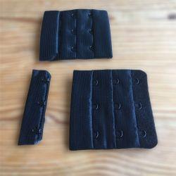 Agrafe de soutien-gorge 3 crochets noire