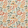 Velours milleraies flowers beige