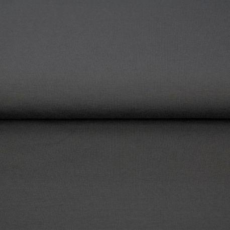 Jersey de bambou gris foncé