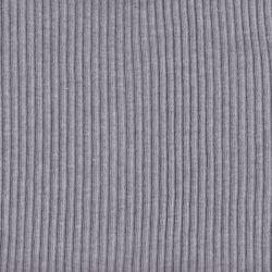 Bord-côte grosses côtes gris chiné clair
