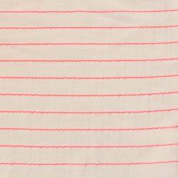 Coton sari fluo