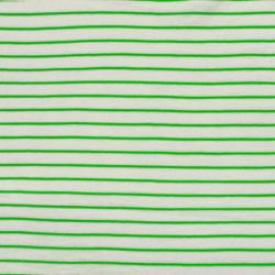 Jersey flammé stripes vert fluo