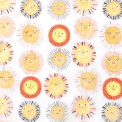 Tissu translucide sunshine
