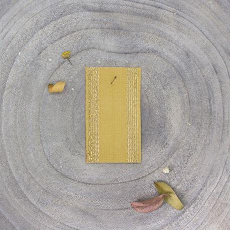 Élastique rayé mustard