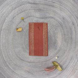 Élastique rayé chestnut