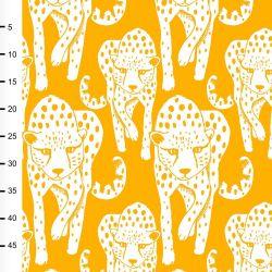 Jersey bio cheetah jaune soleil