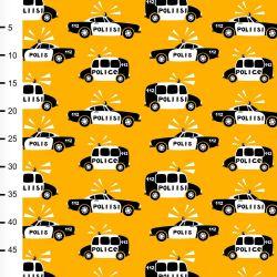 Jersey police jaune soleil/noir