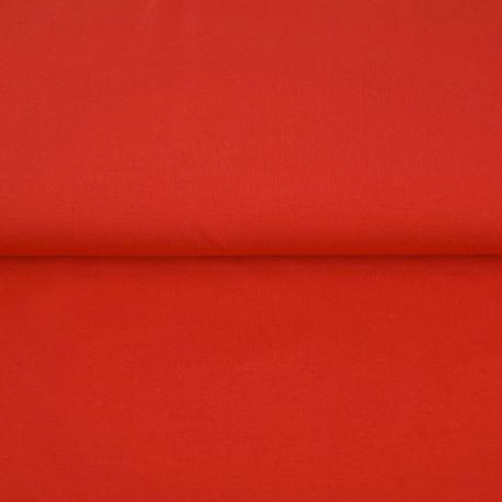 Jersey de bambou bio rouge