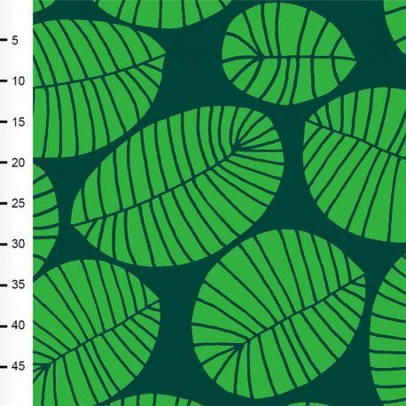 Jersey bio banana leaf vert/vert foncé