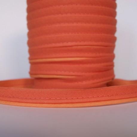Double passepoil bicolore orange