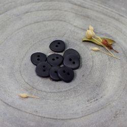 Bouton Atelier Brunette jaipur black 12 mm