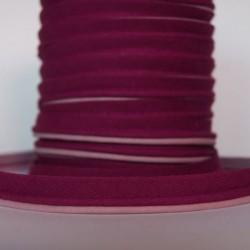 Double passepoil bicolore bordeaux rosé
