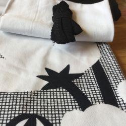 Kit culotte Éternité Variante 1 bio buttercup noir/blanc