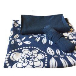 Kit culotte Éternité Variante 1 bio fleur blueberry