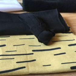 Kit culotte Éternité Variante 1 bio stripe ocre