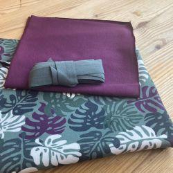 Kit shorty Éternité Variante 1 palms purple