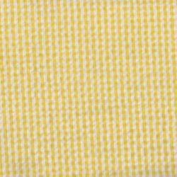 Seersucker vichy jaune