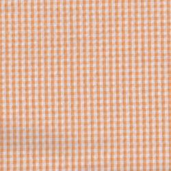 Seersucker vichy mandarine