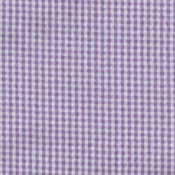 Seersucker vichy parme