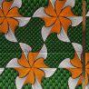 Wax tourbillon orange/vert