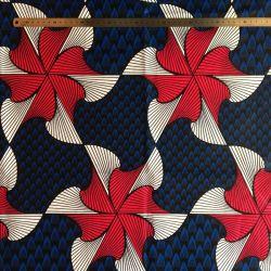 Wax tourbillon fuchsia/bleu roy