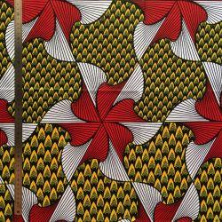 Wax tourbillon jaune/rouge