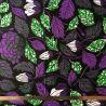 Wax feuilles violet/vert