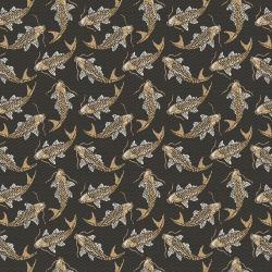 Jacquard habillement naruto or