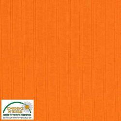 Jersey viscose côtes larges orange douce