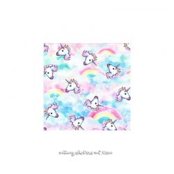 Lycra licorne rainbow