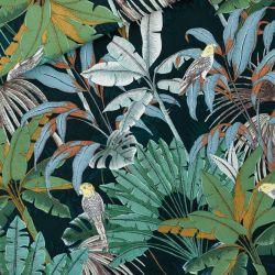 Toile gabardine jungle