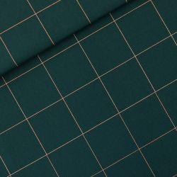 Toile gabardine thin grid XL