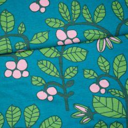 Jersey bio lingonberry pétrole/vert forêt